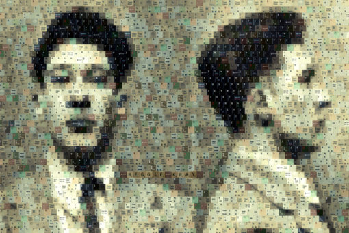 "Reggie Kray - 29""x39"" digital fine art print - $1000"