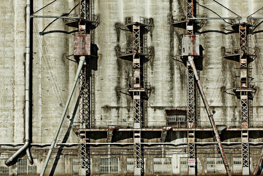 Prescott grain elevator