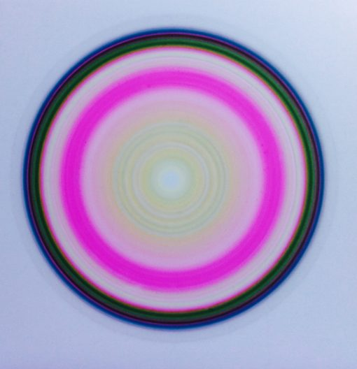 "Untitled - 21"" x 18"", pastel on mylar, framed"