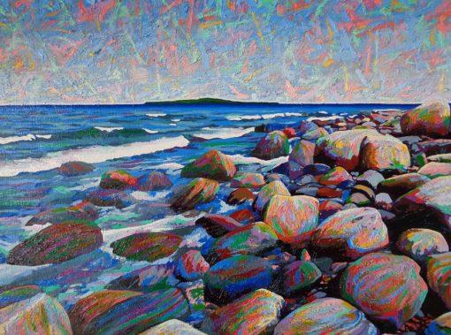"Awenda #1 - 19.5""x25.5"" - oil on canvas - $2520"