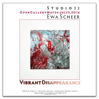 Vibrant Disappearance – Ice Works by Ewa Scheer