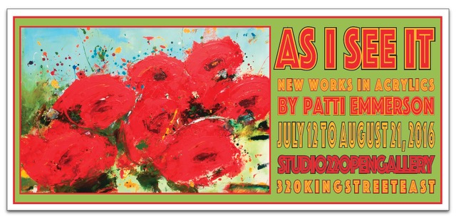 As I See It – new acrylic paintings by Patti Leishman