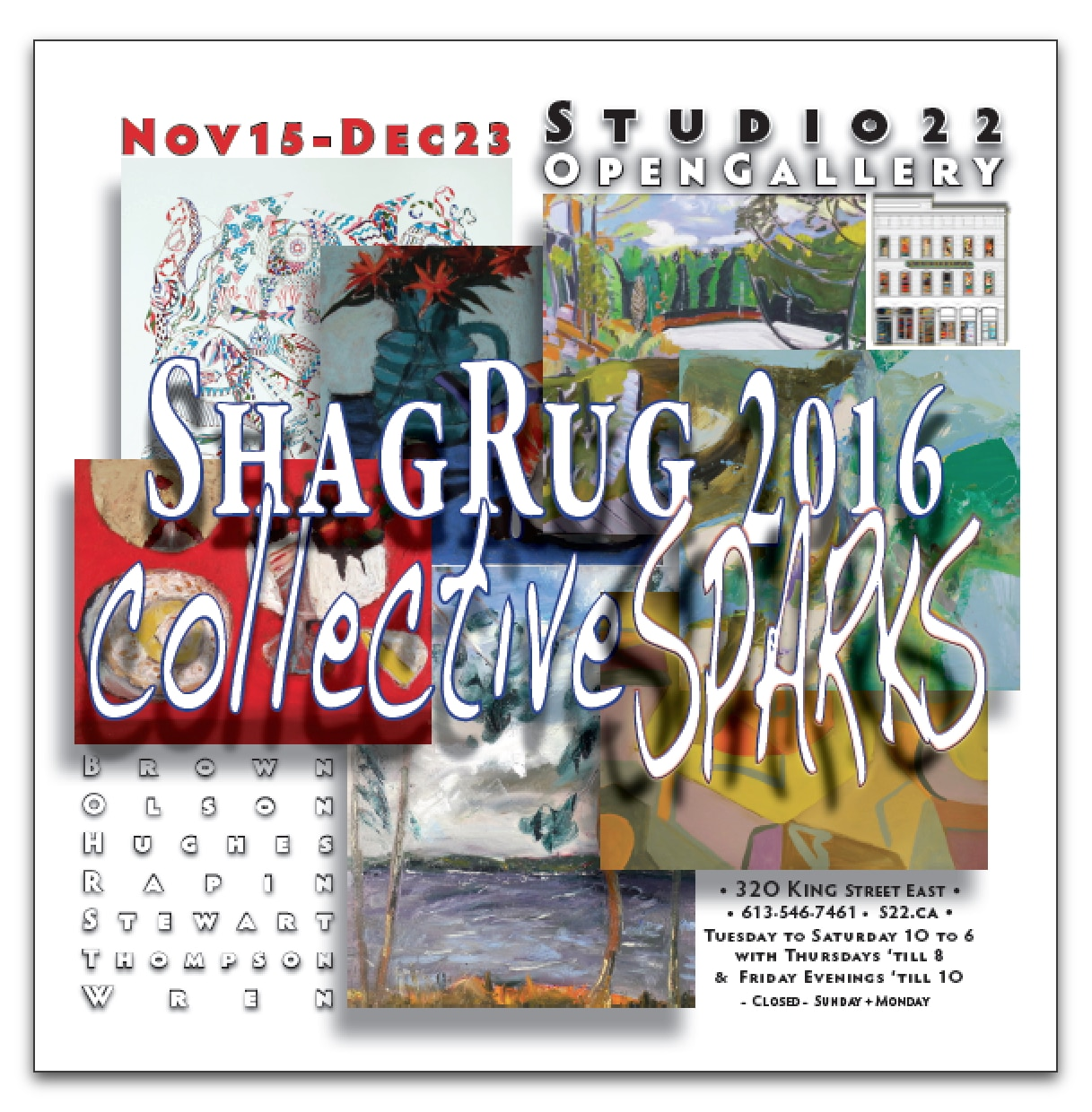 Collective Sparks ~ ShagRug 2016