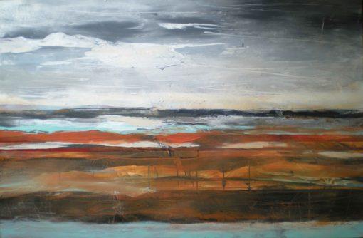 Debra Krakow - Sienna Landscape