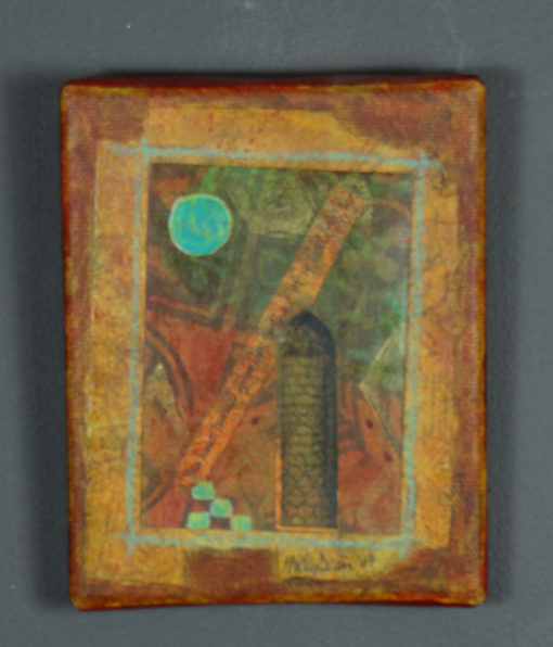 Holly Dean - Altered Image on canvas #6