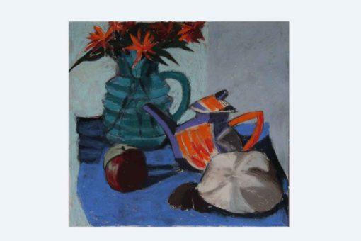 Margaret Hughes - Teapot and Mushroom