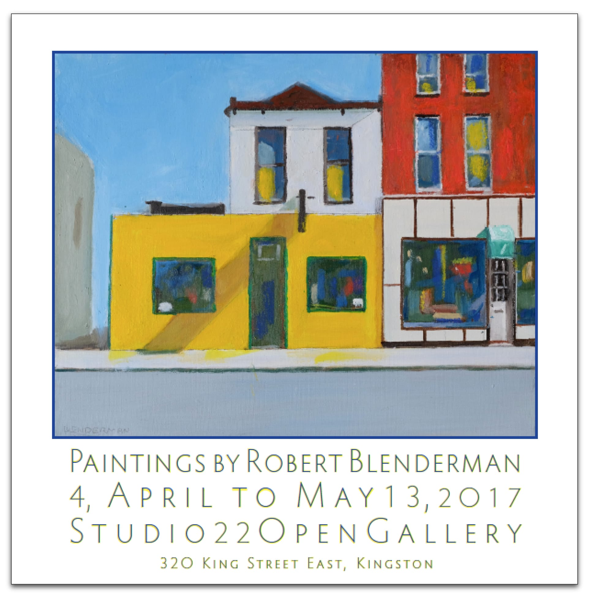 Paintings by Robert Blenderman