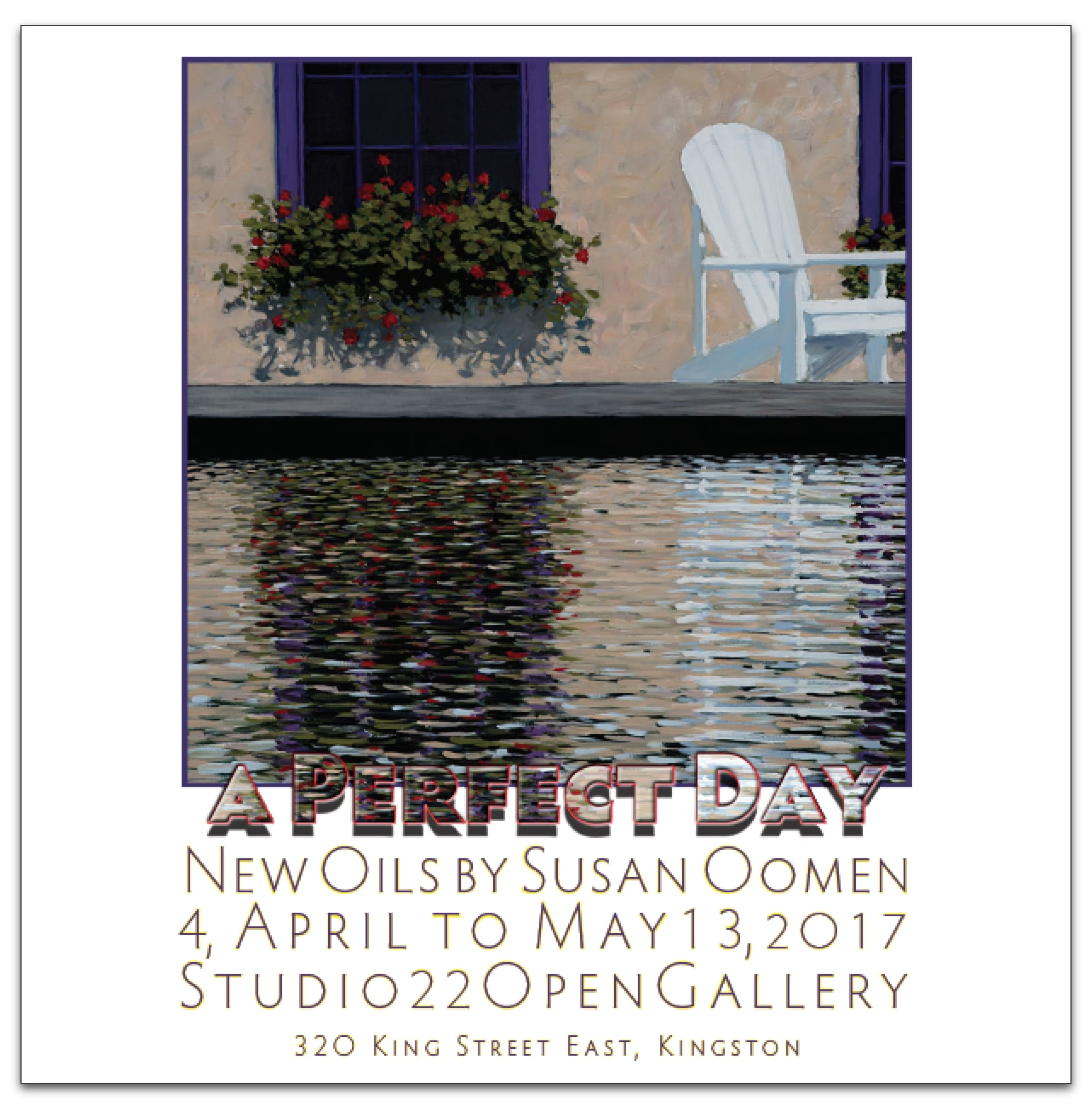 A Perfect Day – New Oils by Susan Ooman