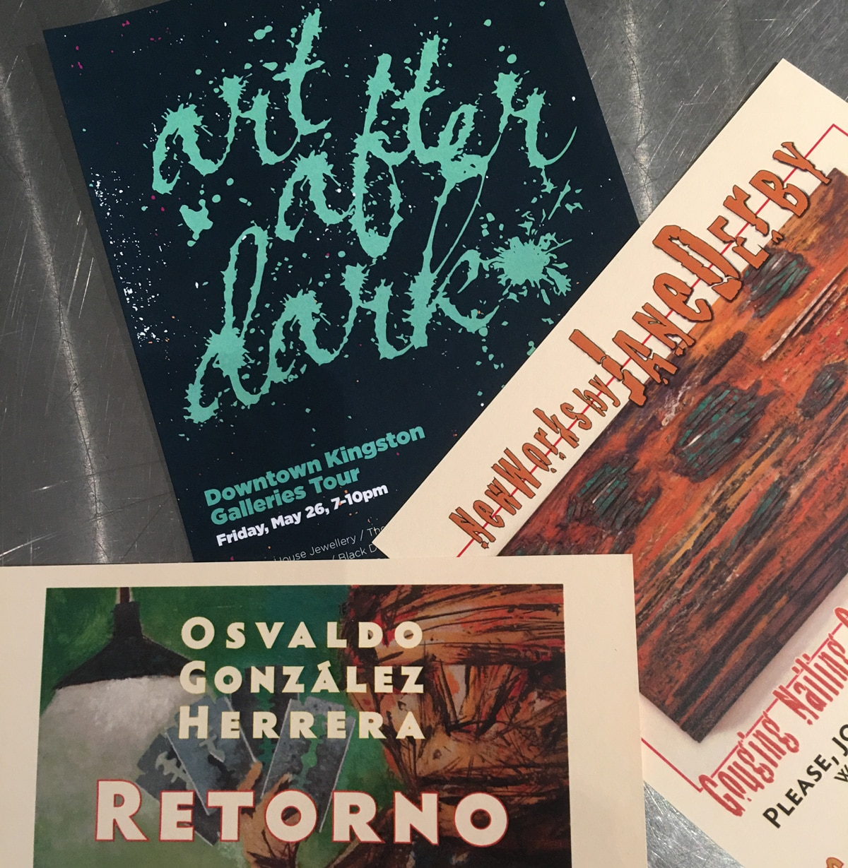 May 26th – New exhibit previews during Art After Dark