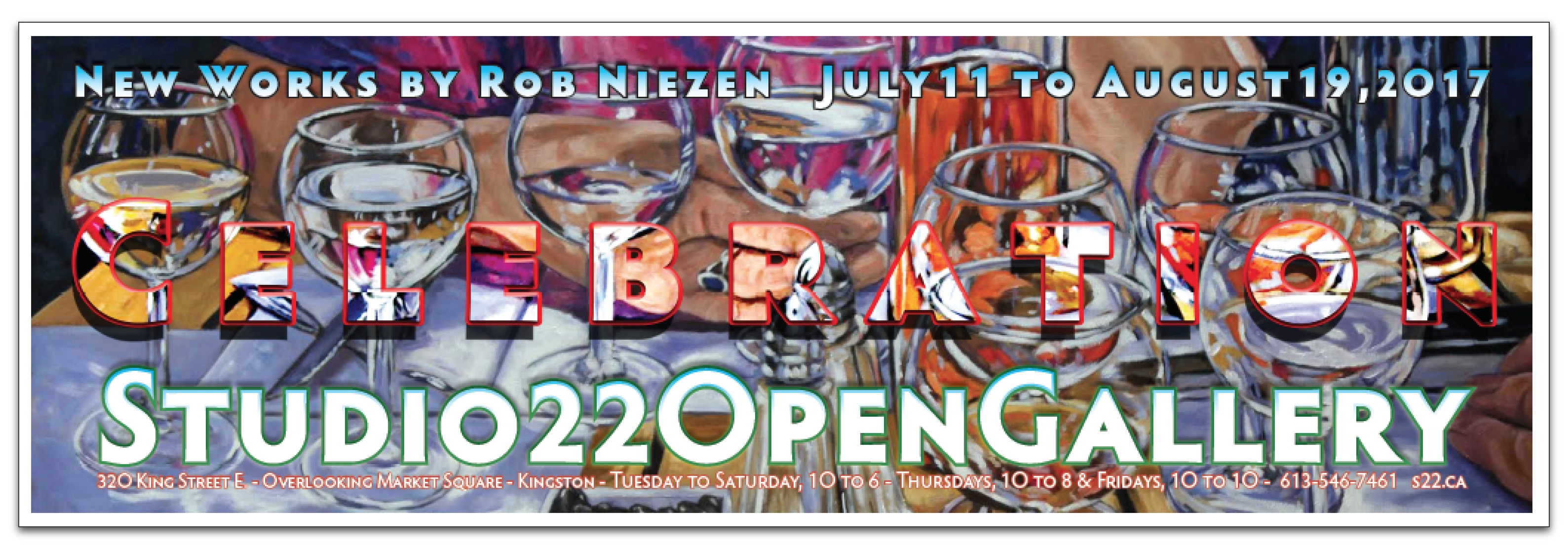 CELEBRATION – New Works by Rob Niezen