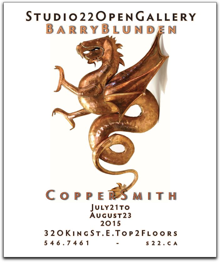 Barry Blunden ~ Coppersmith