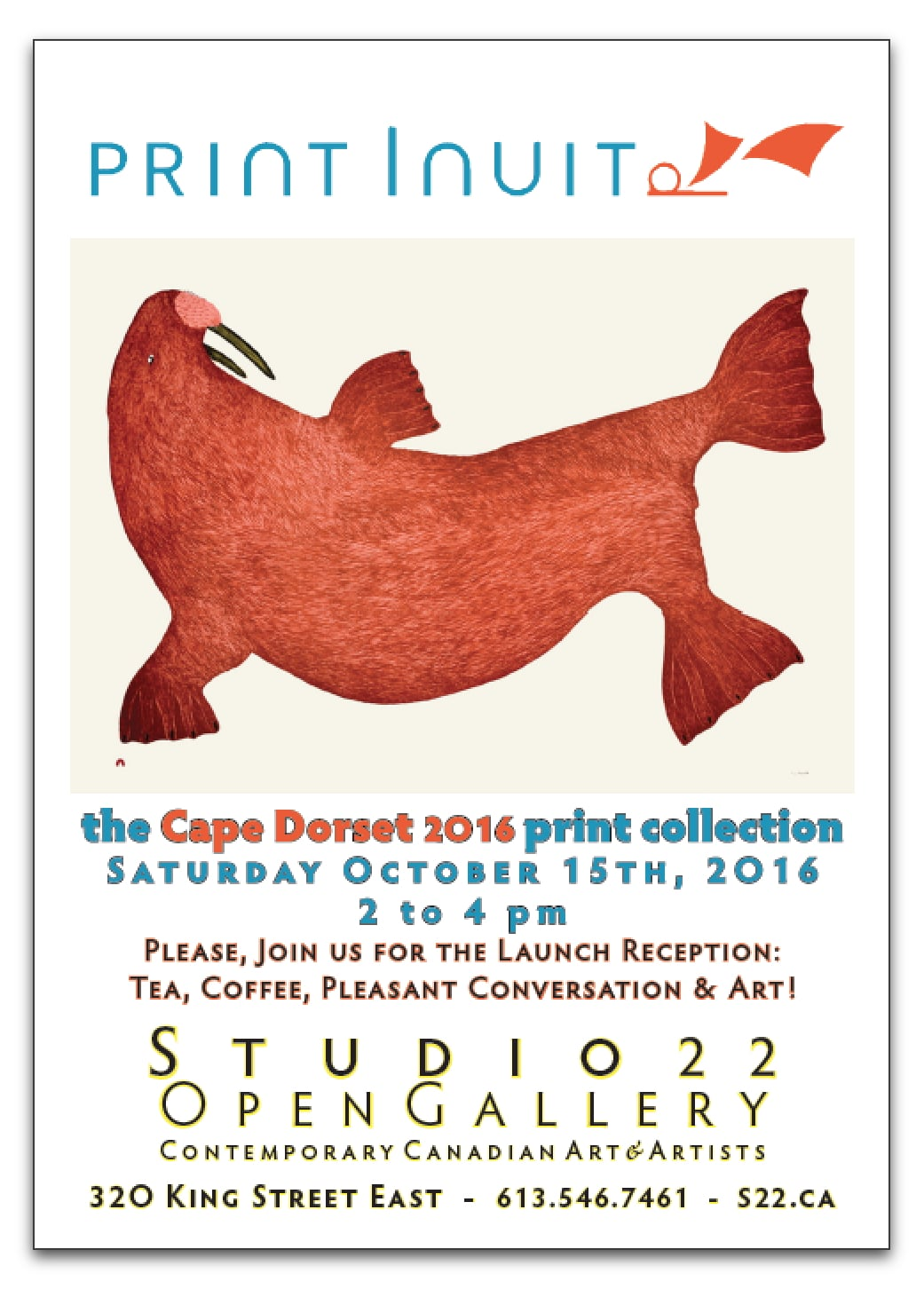 2016 Cape Dorset Print Collection release
