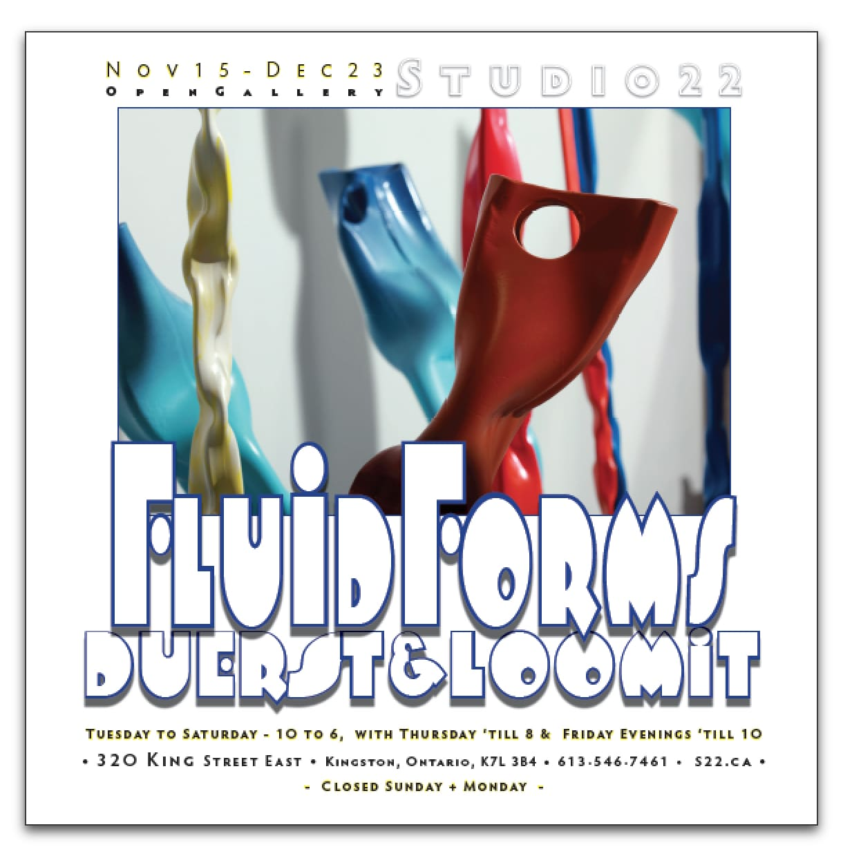 Fluid Forms ~ Duerst & Loomit