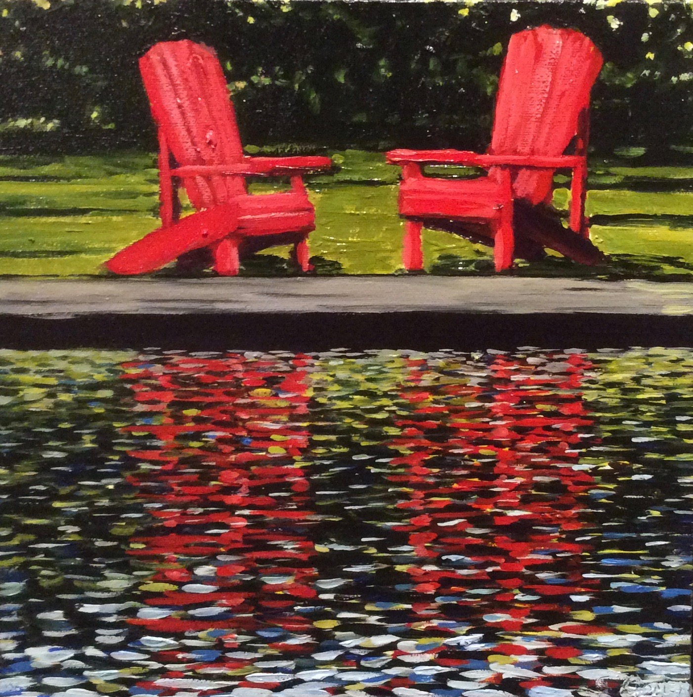 Red Chairs July