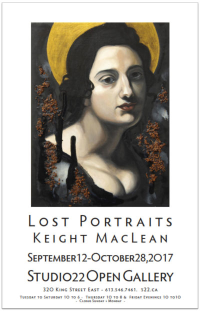 LOST PORTRAITS – New Works by Keight MacLean