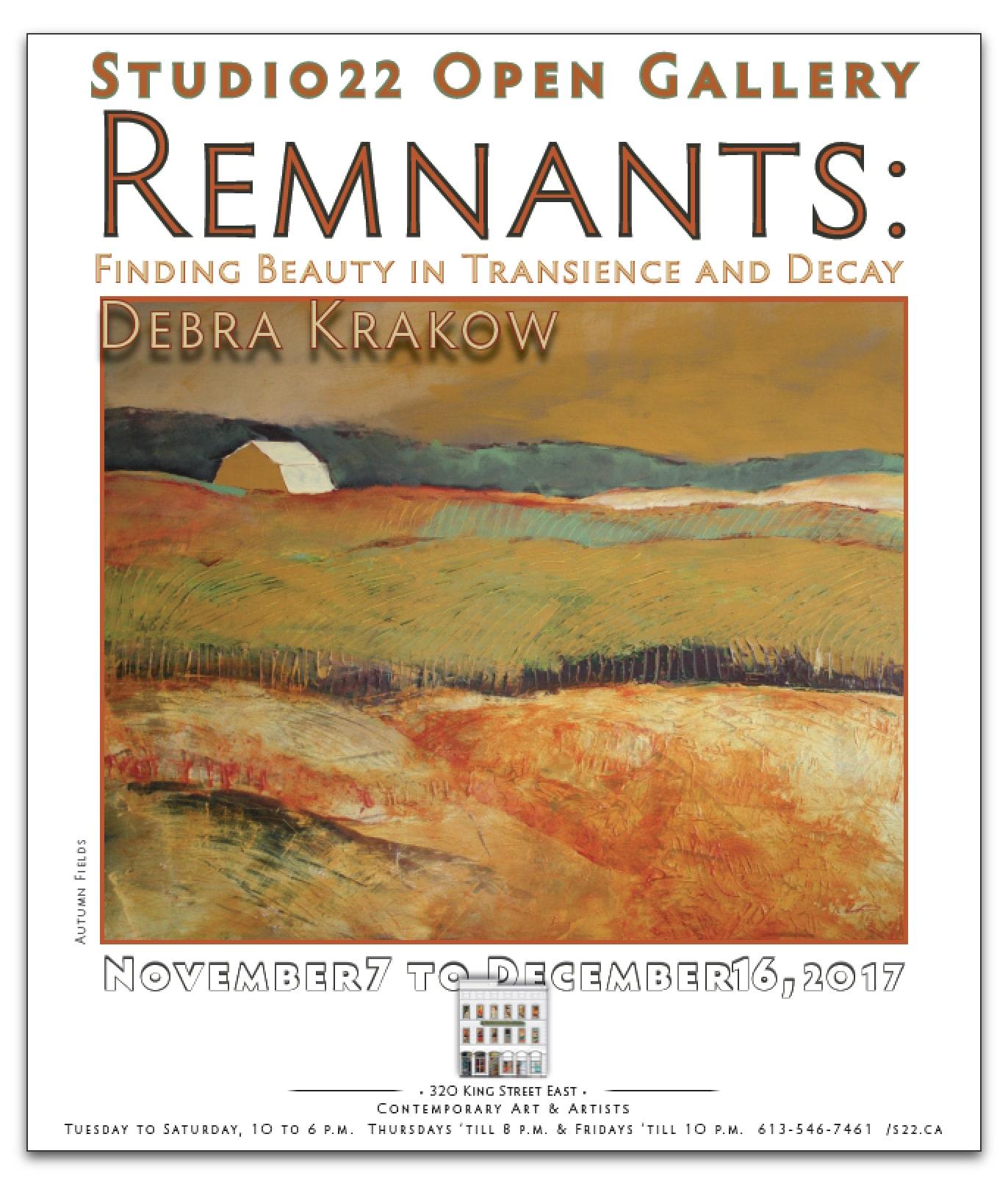 REMNANTS – Debra Krakow