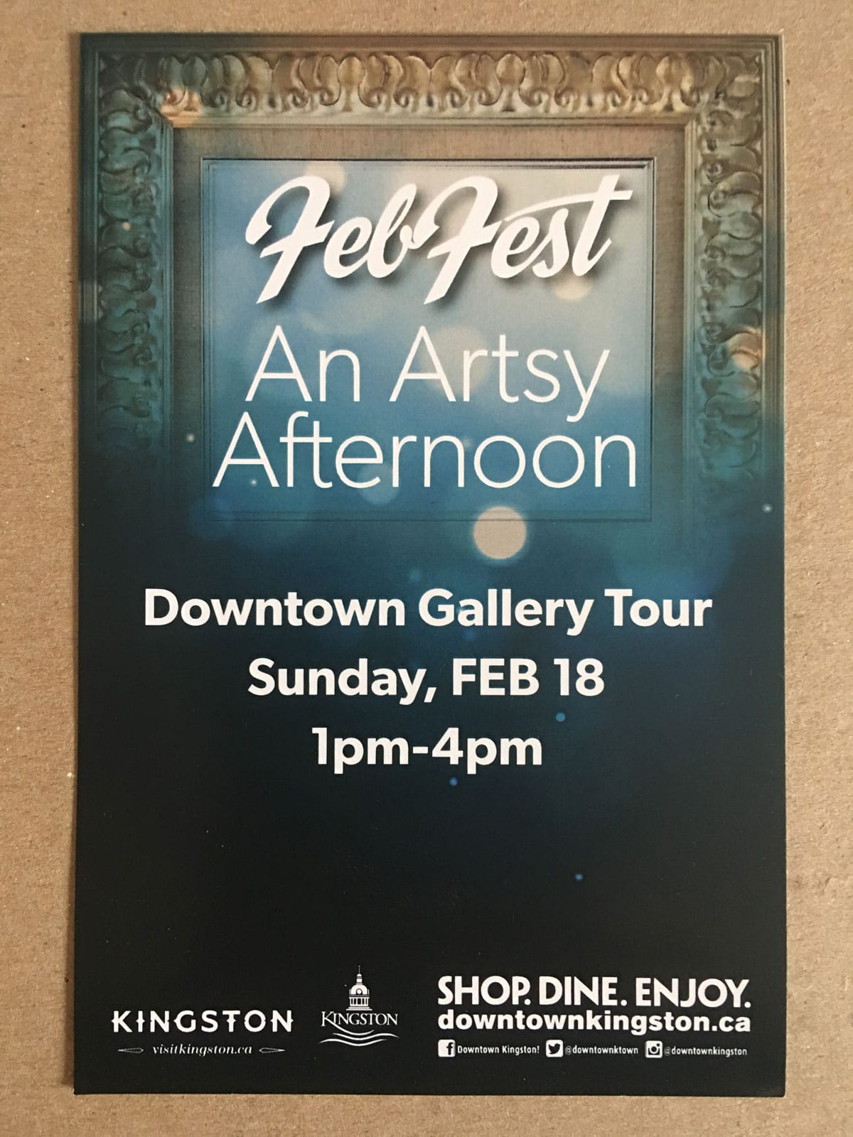 Downtown Art Gallery Tour