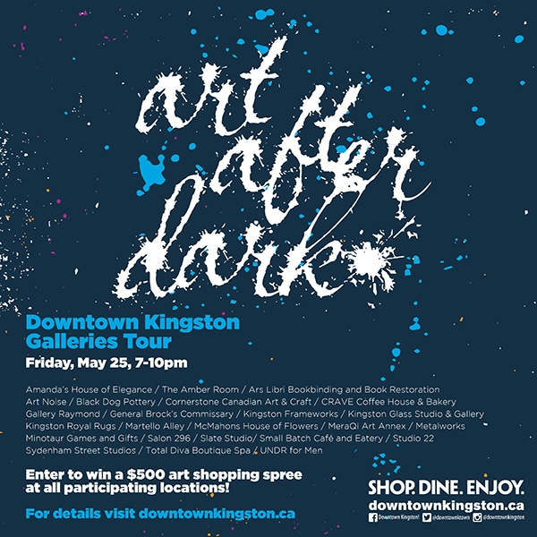 Art After Dark this Friday 7 to 10 pm