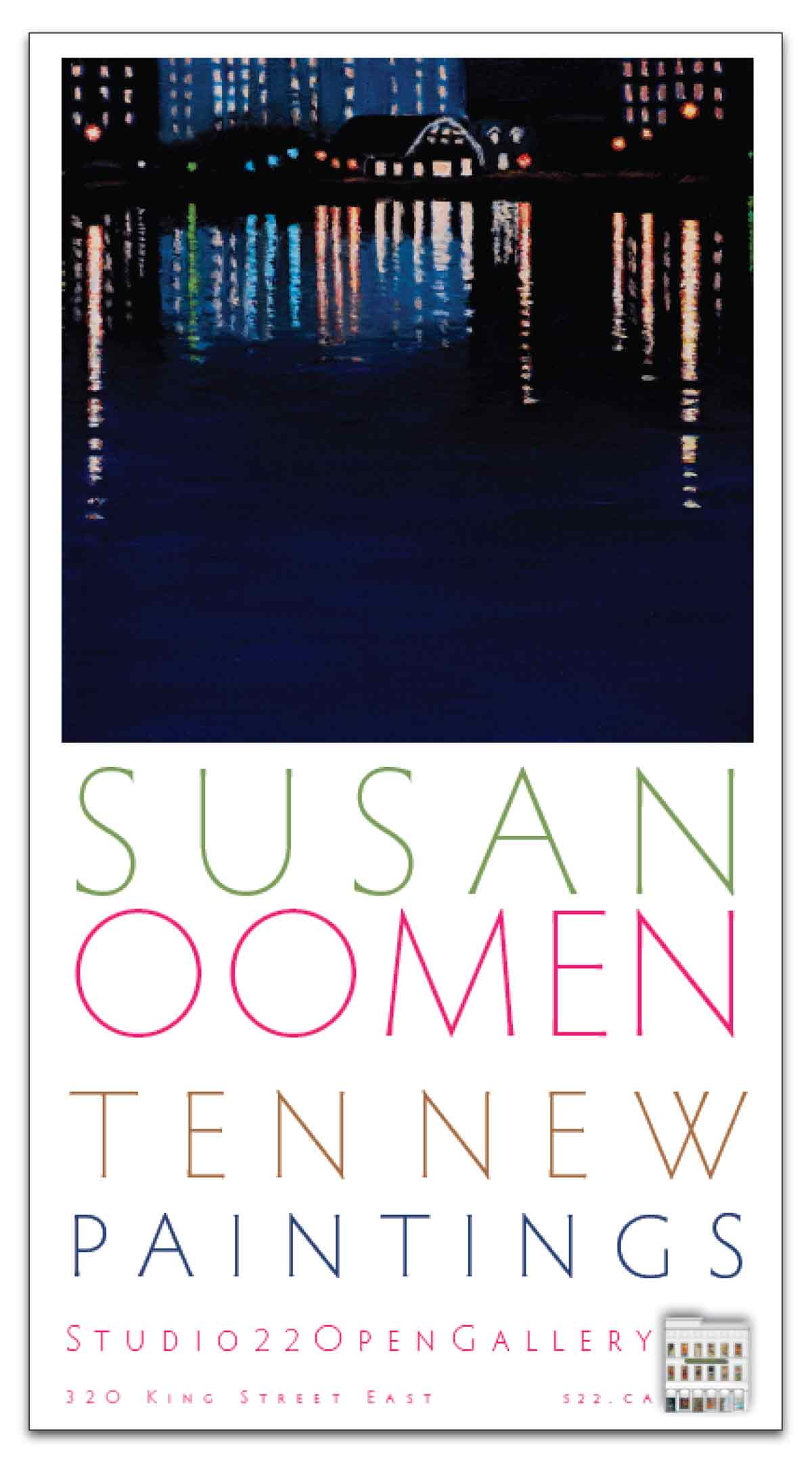 10 New Paintings ~ Susan Oomen