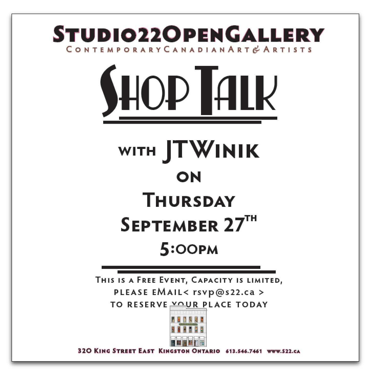 SHOP TALK with JT Winik