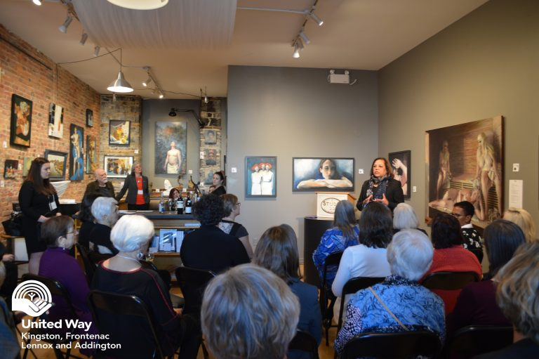 Women United reception sparks conversation about issues facing women and girls in the community