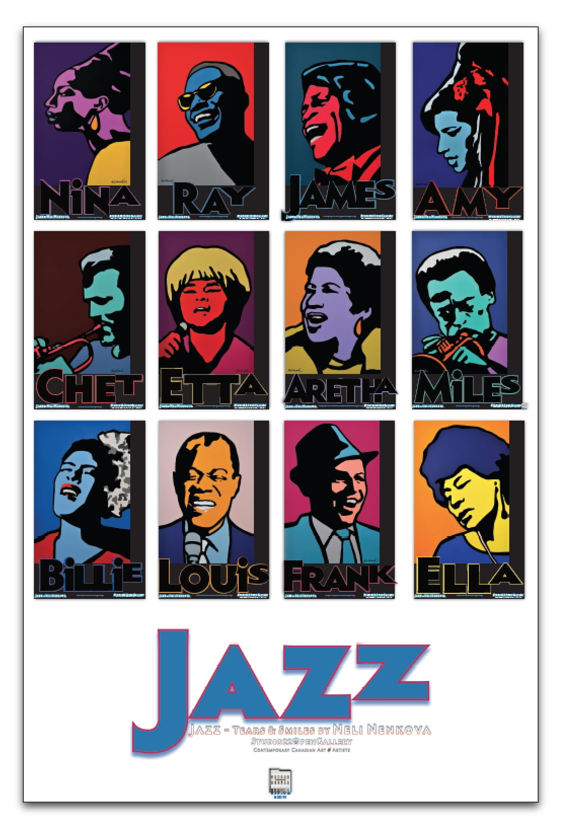 JAZZ – Poster Art Series