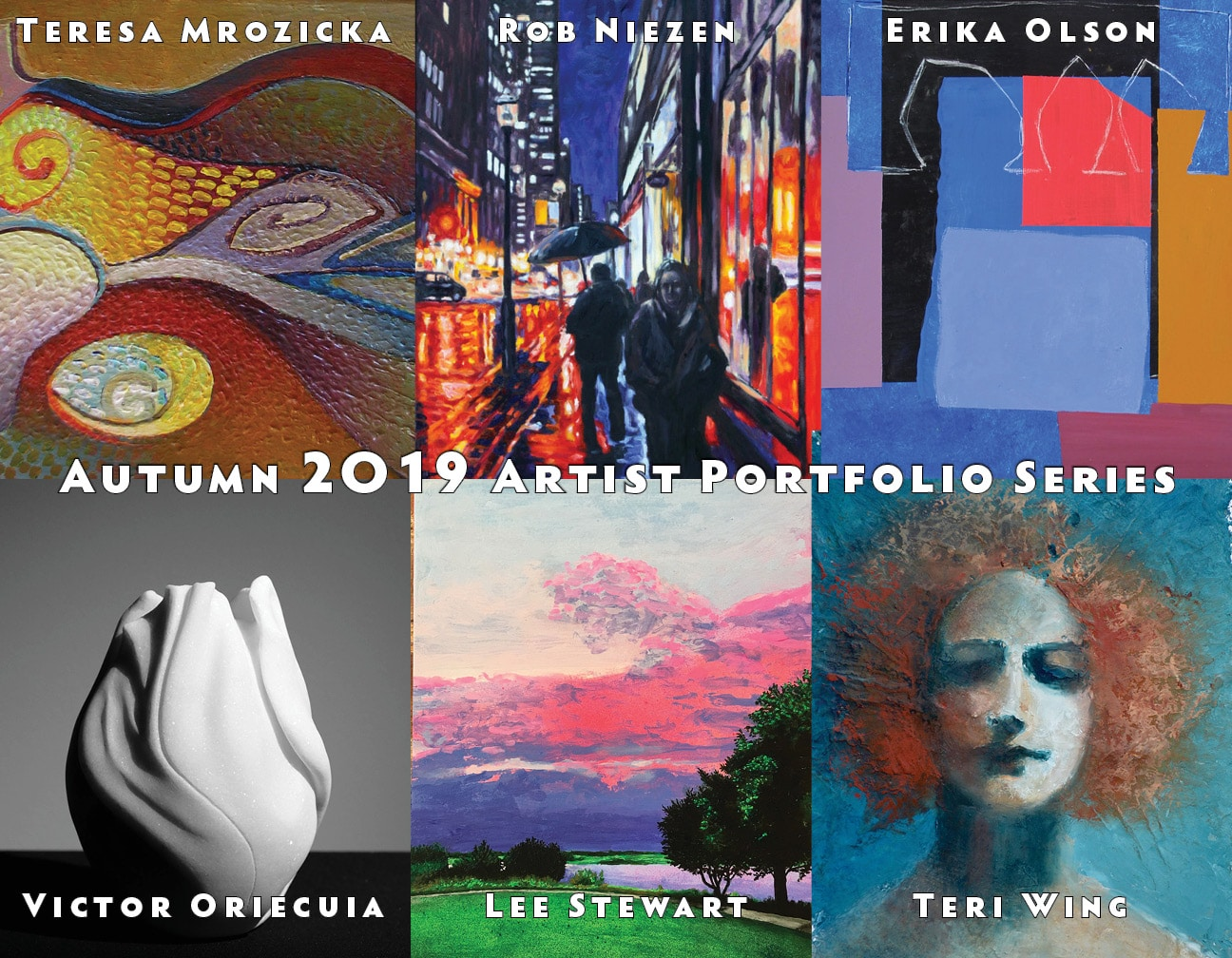 FALL 2019:  Artist Portfolio Series
